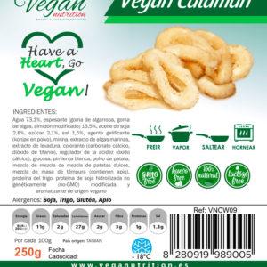 Vegan and Vegetarian Food Veganutrition. Vegan Calamari (HORECA)
