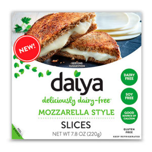 Vegan Distributors. Mozzarella Style Slices