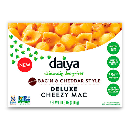 Vegan Distributors. Cheezy Mac Meatless Bac'n & Cheddar Style