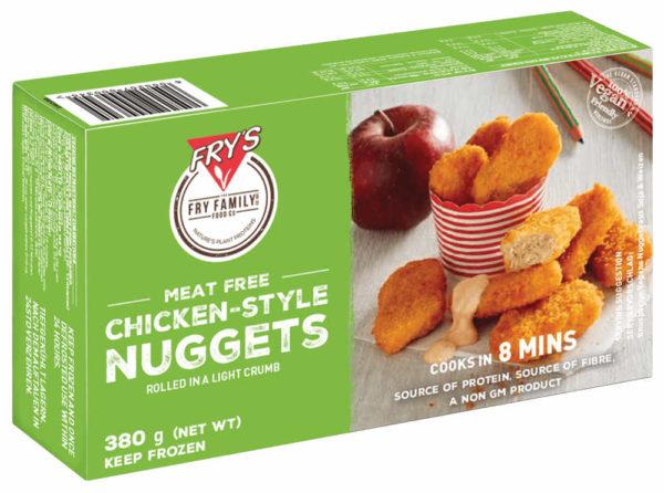 Hecho con proteínas seleccionadas que provienen de granos y legumbres, los nuggets de Fry están recubiertos de una crujiente miga dorada para crear un sabor irresistible. Nuggets Veganas
