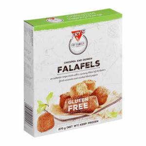 Falafels elaborados con una auténtica receta con una sabrosa mezcla de garbanzos, cilantro fresco y pimienta negra rajada. Bolitas de Falafel sin gluten