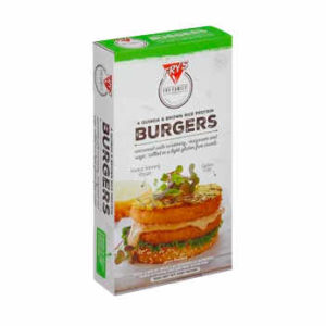 Hamburguesa de Quinoa y Arroz Sin Gluten Frys
