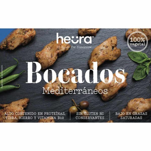 Te llevarán a orillas del Mediterráneo en un solo Bocado. Combínalos con pastas, arroces y vegetales. Bocados Mediterráneos Veganos Heurea