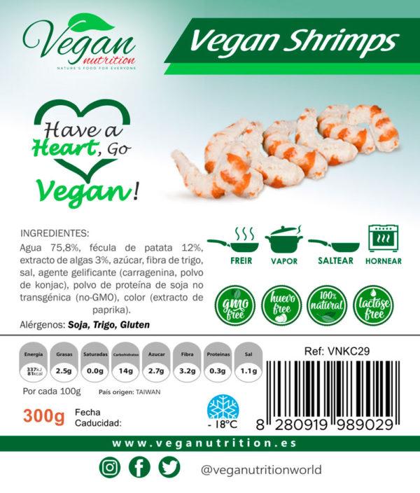 Delicias Veganas Estilo Gambas Vegan Nutrition