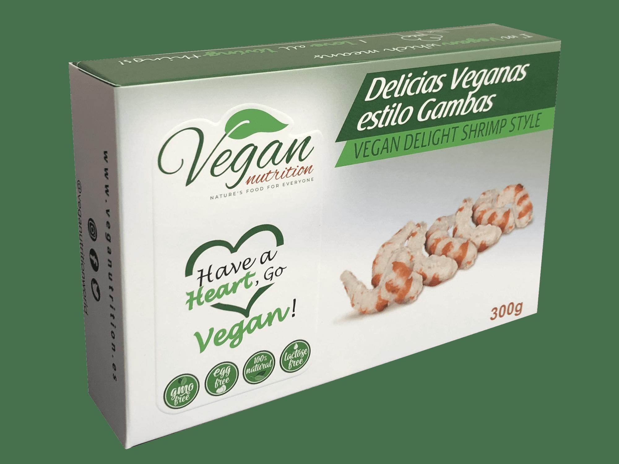 Preparado vegetal estilo gambas (HORECA) - Vegan Nutrition