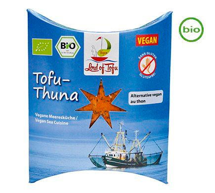 Veganutrition. Vegan Distributors Tofu Thuna