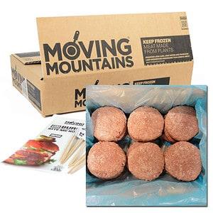 Moving Mountains Hamburguesa Vegana
