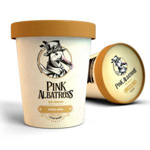 Pink Albatross Helado de Avellana Vegano