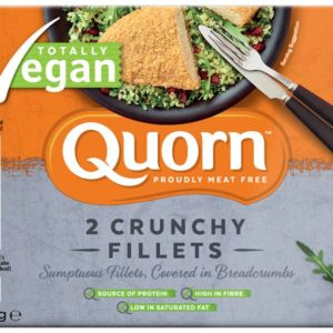 Vegan Crunchy Fillets Enjoy protein-rich, delicious meals with Quorn.