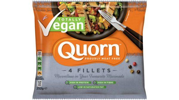 Quorn Filetes Vegetales Veganos