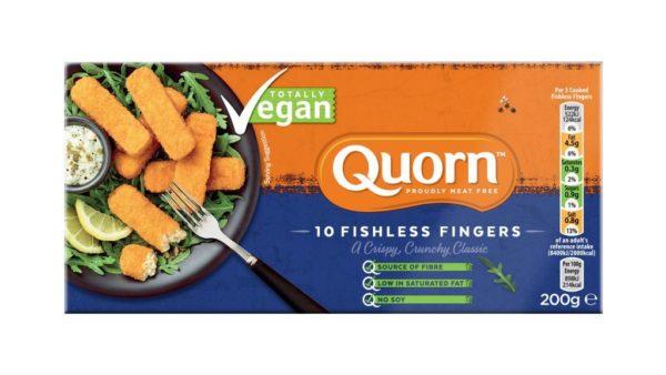 Fingers de Pescado Vegano