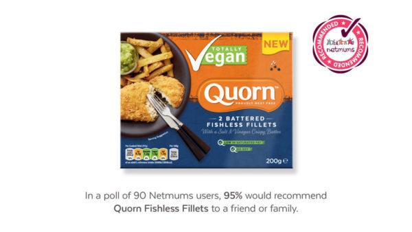 Quorn Filetes Estilo Pescado crujiente Veganos