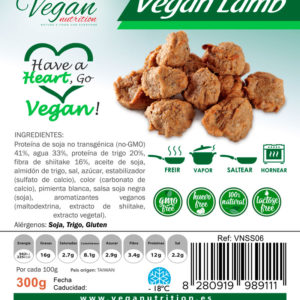 Trocitos Veganos Estilo Cordero