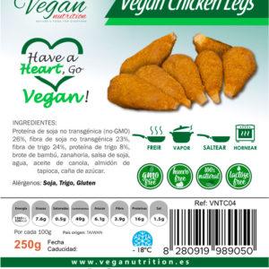 Muslitos Veganos Estilo Pollo Vegan Nutrition