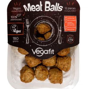 Distribuidores comida vegana y vegetariana. VNVF08 albóndigas veganas Retail 250gr