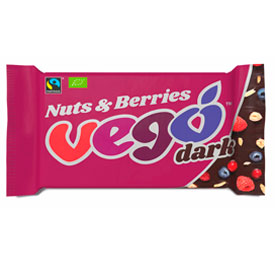 Veganutrition. Distribuidores alimentos veganos y vegetarianos. Vego Dark (Nuts & Berries)
